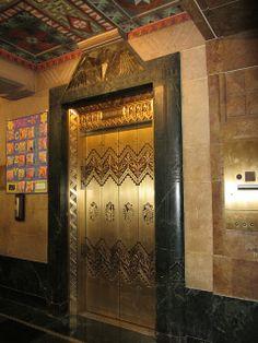 Buffalo City Hall elevator Otis