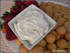 Cheesecake Dip!! Great for those summer gatherings or a late night cheesecake craving.
