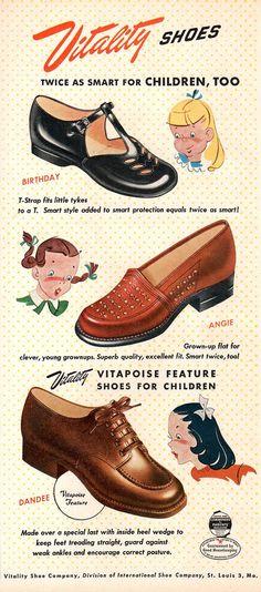 Vintage shoe ad | by HA! Designs - Artbyheather
