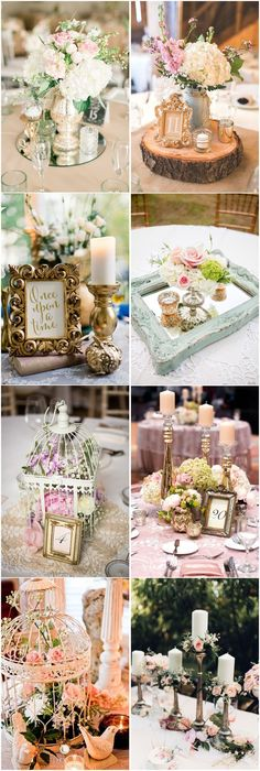 26 Vintage Wedding Centerpieces That Take Your Wedding to a New Level Vintage Wedding Centerpieces, Beach Wedding Decorations, Vintage Weddings, Reception Decorations, Plan My Wedding, Wedding Planning, Dream Wedding, Wedding Ideas, Burlap Party