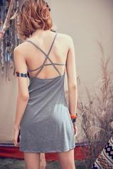 halter vest Slim solid summer dress Backless, Vest, Slim, Summer Dresses, Fashion, Moda, Fashion Styles, Fasion, Summer Outfits