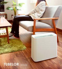 日本Ideaco TUBELOR GRANDE 垃圾桶 隱藏袋袋垃圾桶-淘宝网