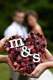 corcks heart   Burgundy Wedding   Matrimonio color borgogna   Sweet September...http://theproposalwedding.blogspot.it/ #autumn #fall #autunno