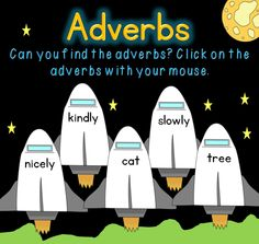 Adverbs PowerPoint. Great interactive fun! Easy - no prep. Click and teach! PowerPoint and worksheets $