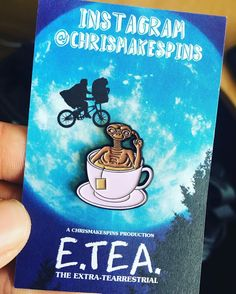 #Repost @chrismakespins  'E.TEA.' Is here! These turned out so sick! Massive thanks to @madebycooper again for  turning my ideas into reality! All orders will be shipped out tomorrow as I've had a super busy weekend! Running low on my other two pins too! chrismakespins.bigcartel.com  #pins #pinstagram #enamelpins #enamelpin #lapelpins #lapelpin #pingame #patchgame #patch #pin #koolfade #koolade #hypebeast #hatpin #supreme #supremenyc #supportyourlocal #doublecup #codeine #codeinecup…