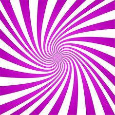 Magenta Abstract Swirl