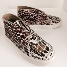 Cool animal print sneakers from Akid for kidswear spring/summer 2015 at Circus PR