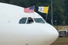 Image result for Pope Francis in Washington DC plane arrives