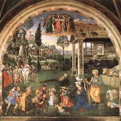 Art lovers are spoilt for choice in Tuscany & Umbria, discover more about little known art works in hill towns & famous galleries full of masterpieces. Italian Renaissance Art, Renaissance Kunst, High Renaissance, Andrea Mantegna, Rome, Santa Maria Maggiore, Sainte Marie, Italian Painters, Renaissance