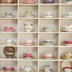 tea cups galore