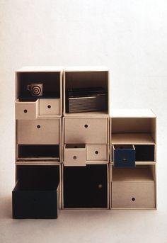 Cardboard storage system