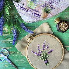Cross stitch lavender, point de croix, creation point de croix, punto cruz