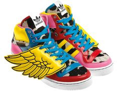 factory authentic 7771e b1736 Adidas that 2ne1 wore in a mv Adidas Superstar, Baskets Adidas, Jeremy  Scott Adidas
