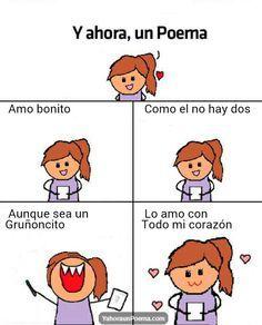 Y ahora un poema