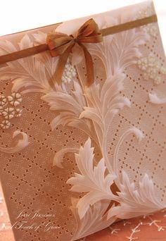 Parchment paper ~ so delicate!