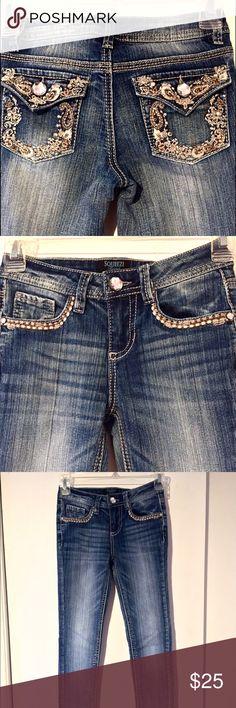 Handmade decorated Holistar jeans PHWFJ