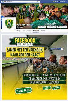 ADO Den Haag|  app Facebook Field Seats