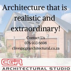 Ergonomic Home Planning & Environmentally Friendly Design Contact Us: 076 933 6698 clive@cgrarchitectural.co.za www.cgrarchitectural.co.za  #architecture #Building #kznhomes #architect