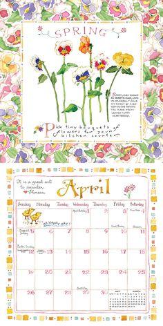 2015 Susan Branch Mini Calendar: TF PUBLISHING: 9781579003746: Amazon.com: Books