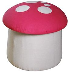 This kids storage and seating ottoman would be great for hiding your Mario gaming secrets.