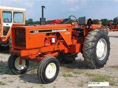 allis chalmers tractors   Description Oogstdag Allis ...