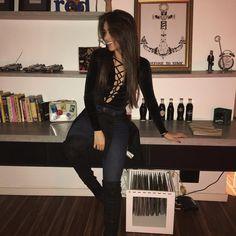 "15.8 mil curtidas, 70 comentários - Agatha Braga (@agatha) no Instagram: ""✋"""