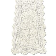 Thread Crochet Table Runner Beautiful – New Free Crochet Patterns Lace Embroidery, Embroidered Lace, Hand Crochet, Crochet Lace, Crochet Table Runner Pattern, Rustic Fabric, Burlap Table Runners, Beige, Rustic Furniture