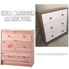 Ikea Dressers Makeover
