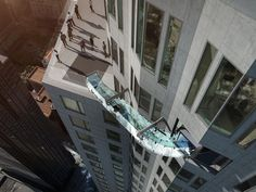 """A new development in downtown LA is opening up and we have not seen an amenity like this ever. The mixed use building stands 69 stories above downtown Los Angeles and has already been featured in the new """"Independence Day"""" movie."""