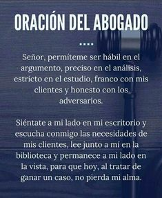 Oración del abogado Law Quotes, Lawyer Office, Law And Justice, Criminal Law, Daily Prayer, Study Motivation, Law School, Wallpaper Quotes, Quote Of The Day