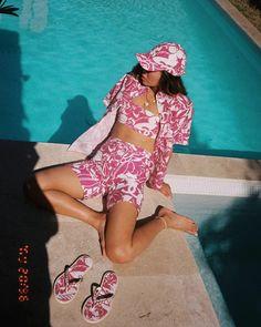 Aimee Song in Chanel summer beach look