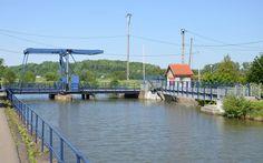 Canal du Rhone au Rhin , Pont levant à  Zillisheim