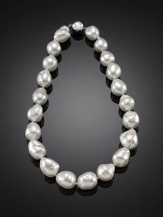 Baroque Pearls... So classy.