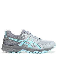 ASICS Women's Gel-Sonoma 3 Trail Running Shoes (Grey/ Mint) - 11.0 M