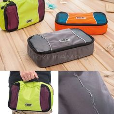 MX - GOX Men Sport Camping Organizer Bag Gym Clothes Storage Hanging Bag S