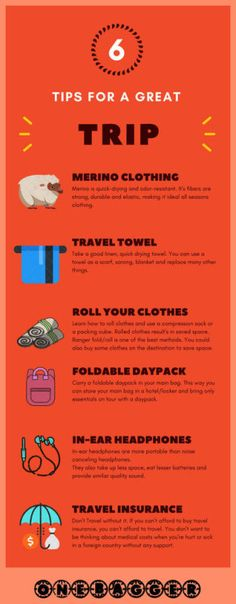 6 Tips for a Great Trip via @ http://ift.tt/2qCSsIW