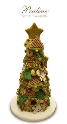 Un #delicioso detalle para #compartir en #familia o como #regalo hecho de #galletas decoradas @praline_mexico