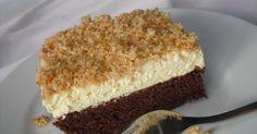 Zutaten Für den Boden: 250 g Butter 250 g Zucker 6 Ei(er) 150 g Mehl 4 EL Kakaopulver 1 Pck. Backpulver ...