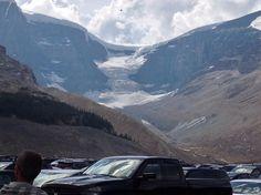 Athabasca glacier. Rocky Mountains. Alberta. Canada