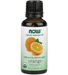Now Organic Orange Oil Organic 1 oz