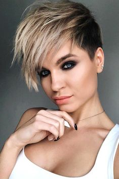 trendy hair styles for black undercut pixie haircut symmes 3523