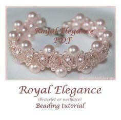 Beading pattern Royal Elegance