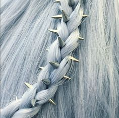 regal rose silver phoenix hair spikes