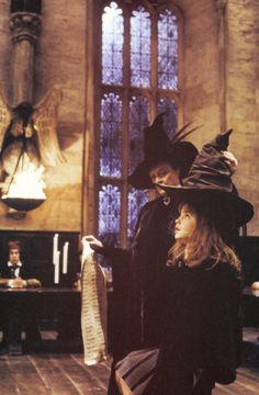 harry potter-the sorting hat