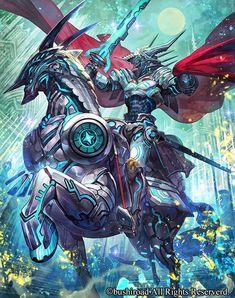 本日発売のカードファイト!! ヴァンガードGトライアルデッキ「明星の聖剣士」にて「朧の聖騎士 ガブレード」「繊月の騎士 フェレックス」の2枚描きました!どうぞよろしく( ・ㅂ・)و http://cf-vanguard.com/