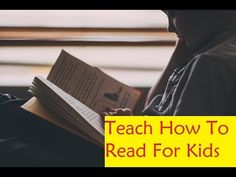 Teach How To Read For Kids