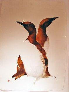 Guillemots - Karl Mårtens - watercolor