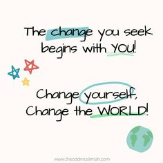 Spiritual Development, Self Development, Me Quotes, Motivational Quotes, Nothing's Changed, Islam Facts, Personal Relationship, Everything Changes, Change The World