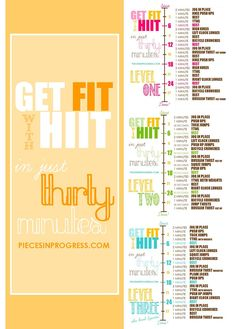 A brand new set of workouts is here! This 3 level... | Pieces in Progress: Living fit, healthy, & happy!