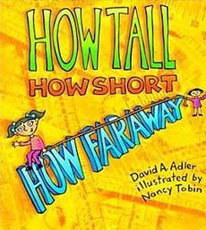 I love this book for teaching measurement! I use this during our Ancient Egypt unit and have the kids actually measure like an Egyptian- They trace their cubits, spans, palms and digits to glue to sentence strips.